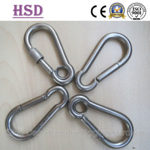 Ss316 Snap Hook with Eyelet and Screw, DIN5299c, Common Type, Rigging Hardware, Marine Hardware pictures & photos