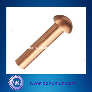 Copper Round Head Solid Rivet pictures & photos