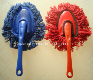 Cotton Yarn Plastic Grip Heart Shape Car Duster Brush pictures & photos