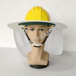 Hi-Viz Safety Sun Brim Used on Helmet pictures & photos