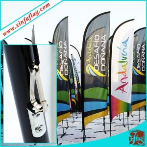 Custom Polyester Table Teardrop Flag for Promotion pictures & photos