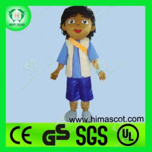 Hi En71 Diego Explorer Mascot Costume