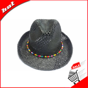 Paper Straw Fedora Panama Sun Knitted Hat pictures & photos