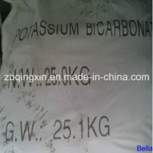 China Supplier Hot Sale Factory Price Reliable Quality Food Grade 99% CAS No.: 298-14-6 Khco3 Potassium Bicarbonate pictures & photos