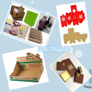 High Efficient Semi-Automatic Paper Box Making Machine pictures & photos
