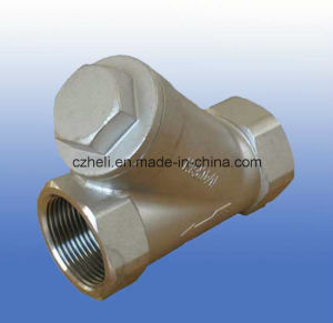 800wog Y-Type Spring Check Valve 316ss Hvt-C1 pictures & photos