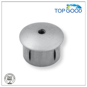 Flexible Arc End Cap with Thread for Steel Railing pictures & photos