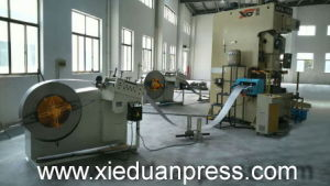 Auto Parts Metal Sheet Stamping 160ton Automatic Coil Feeder Press Line pictures & photos