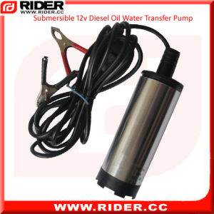 Submersible 12V Diesel Oil Water Transfer Pump pictures & photos