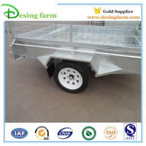 Box Trailer with Cage (7X5) pictures & photos