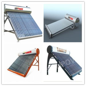 Mini Sample Solar Water Heater for Exhibtion /for Showroom and Fair (SPC470-58/1800-24) pictures & photos