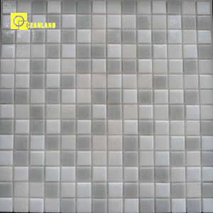 Chinese White Cheap Promotion Glass Mosaic Bathroom Wall Tiles Floor pictures & photos