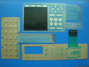 FPC Circuit Electric Flexible Multilayer Board Screen Printing Membrane Switch pictures & photos