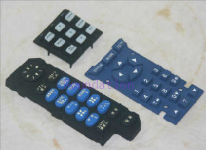 High Sensivity Control Overlay Silicone Rubber Button Keypad Keyboard pictures & photos