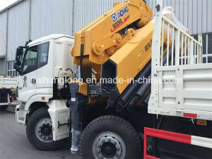 HOWO Chassis 371HP Rhd Container Carry Truck Crane pictures & photos
