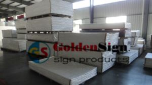 2015 Wholesale High Density Snow White High Hardness Heat Insulation Building Material PVC Foam Board/Celuka Sheet/Ad Sheet/ pictures & photos