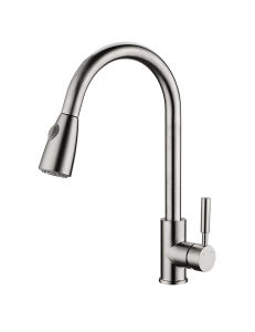 Classic Timeless Single Hand Kitchen Faucet (ZF103L-B) pictures & photos