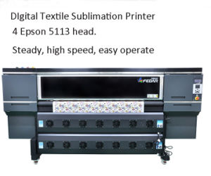 Fd-6194e Digital Printer for Sublimation, Constant Tension Paper Take up System pictures & photos