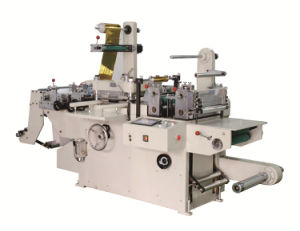 Rtmq-520 Roll to Roll Label Die Cutter machinery with Hot Stamping pictures & photos