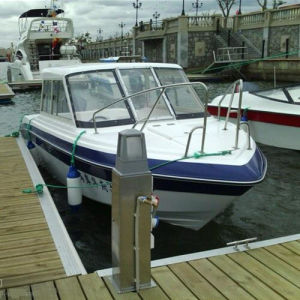 22FT Fiberglass Work/Patrol Boat/Police Boat pictures & photos