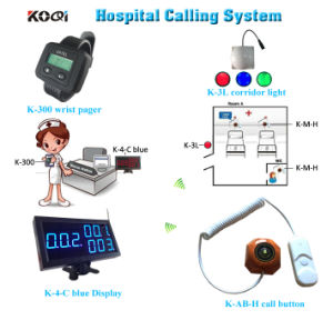 Hospital Calling System for Patient Nurse Calling with CE pictures & photos