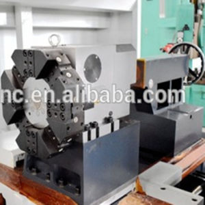 Hydraulic Chuck Flat Bed CNC Lathe (CKNC61100) pictures & photos