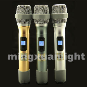 DC-One Nice Sound Dual Handheld UHF Wireless Mic pictures & photos