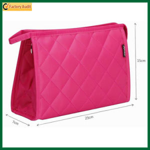 Wholesale Ladies Printed Polyester Cosmetic Bags (TP-COB013) pictures & photos