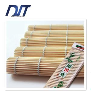 Pure Natural Bamboo White Sushi Rolling Mat pictures & photos
