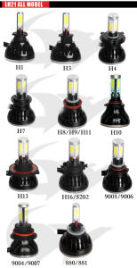 High Lumen 80W 8000lm G5 COB LED Car Light H4 H7 9005 9006 H11 LED Headlight pictures & photos