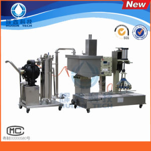 Semi-Automatic Gravity Filling Machine pictures & photos