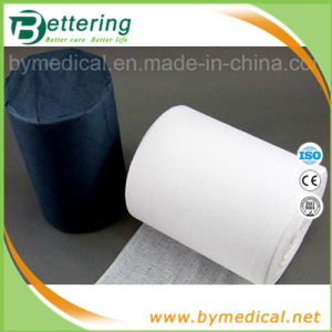 Sterile Abosrbent Cotton Gauze Roll pictures & photos