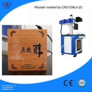 Non-Metal CO2 Laser Marking Systems Engraving Wood Machine pictures & photos
