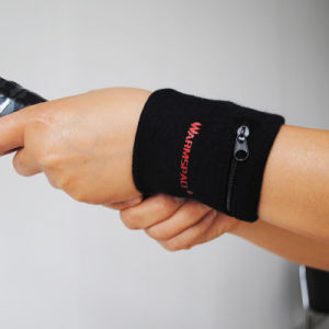Sports Wrist Band with Zipper pictures & photos