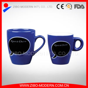 Colored Mug with Blackboard Imprint pictures & photos