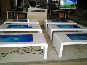 21.5, 32, 42, 43, 49, 55, 65, 75, 84-Inch Touchscreen All in One Kiosk Touchtable pictures & photos