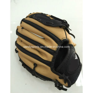 Soft PVC Leather Baseball Gloves pictures & photos