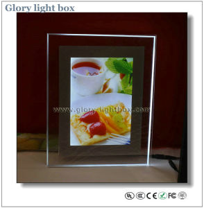 Magic Acrylic Crystal Light Box Display pictures & photos