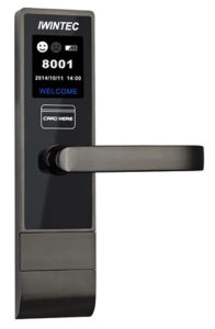 Hotel Door Lock with Room Number, Digital Hotel Card Key Lock pictures & photos