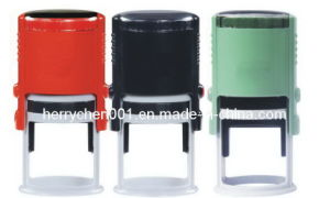 Plastic Self Inking Round Stamp, No. 1600 pictures & photos