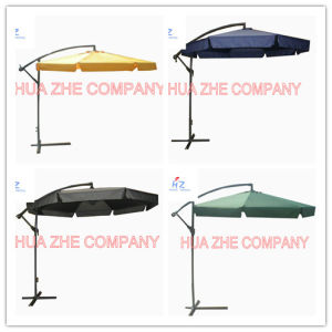Hz-Um87 10X10ft Banana Umbrella Hanging Umbrella Garden Umbrella Parasol Outdoor Umbrella pictures & photos