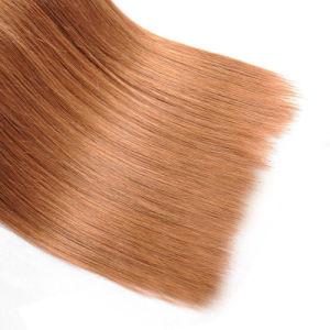 "Straight Hair Bundles Pure Color 30 Peruvian Hair 100% Human Hair Weave 10"" pictures & photos"