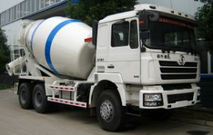 Heavy Duty Shacman 6X4 12cbm Cement Mixer Truck pictures & photos