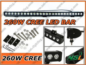 47inch 12V24V 260W CREE LED Work Light Bar SUV 4X4 Truck Boat Marine Light pictures & photos