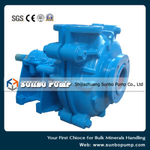 High Quality Horizontal Rubber Lined Centrifugal Slurry Pumps Manufacturer pictures & photos
