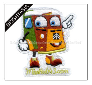 Funny Clothing Embroidery Patch for Children (BYH-10970) pictures & photos