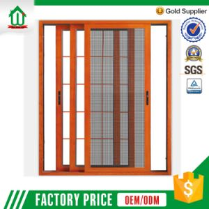 Aluminum Sliding Window With Grill Design And Mosquito Net