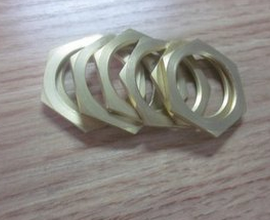 High Quality Hex Thin Nuts Copper pictures & photos