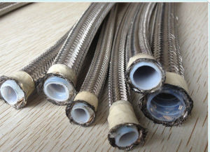 3/8 Inch 16MPa Ss Braided PTFE Teflon Hose with Free Teflon Hose Sample pictures & photos