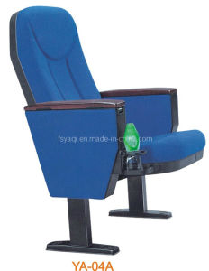 High Back Armed Auditorium Seating Auditorium Chair with Cup-Holder (YA-04A) pictures & photos
